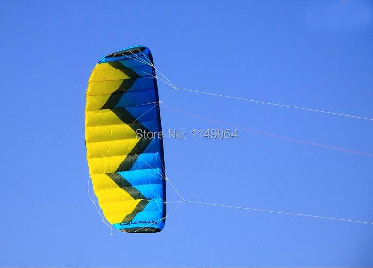 Livraison gratuite de haute qualité 4 squaremètre wasp4 quad line cascadeur cerf-volant surf désert aigle sports de plein air cerf-volant artisanat de parafoil