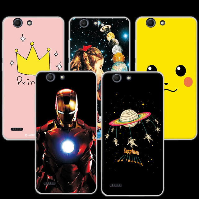 more photos 44386 bdc2e US $1.17 20% OFF|Flowers Donuts Phone Case Cover For Vodafone Smart E8 5.0  inch Ample Colorful Protective Cases Coque For Vodafone E8 E 8 VFD 510-in  ...
