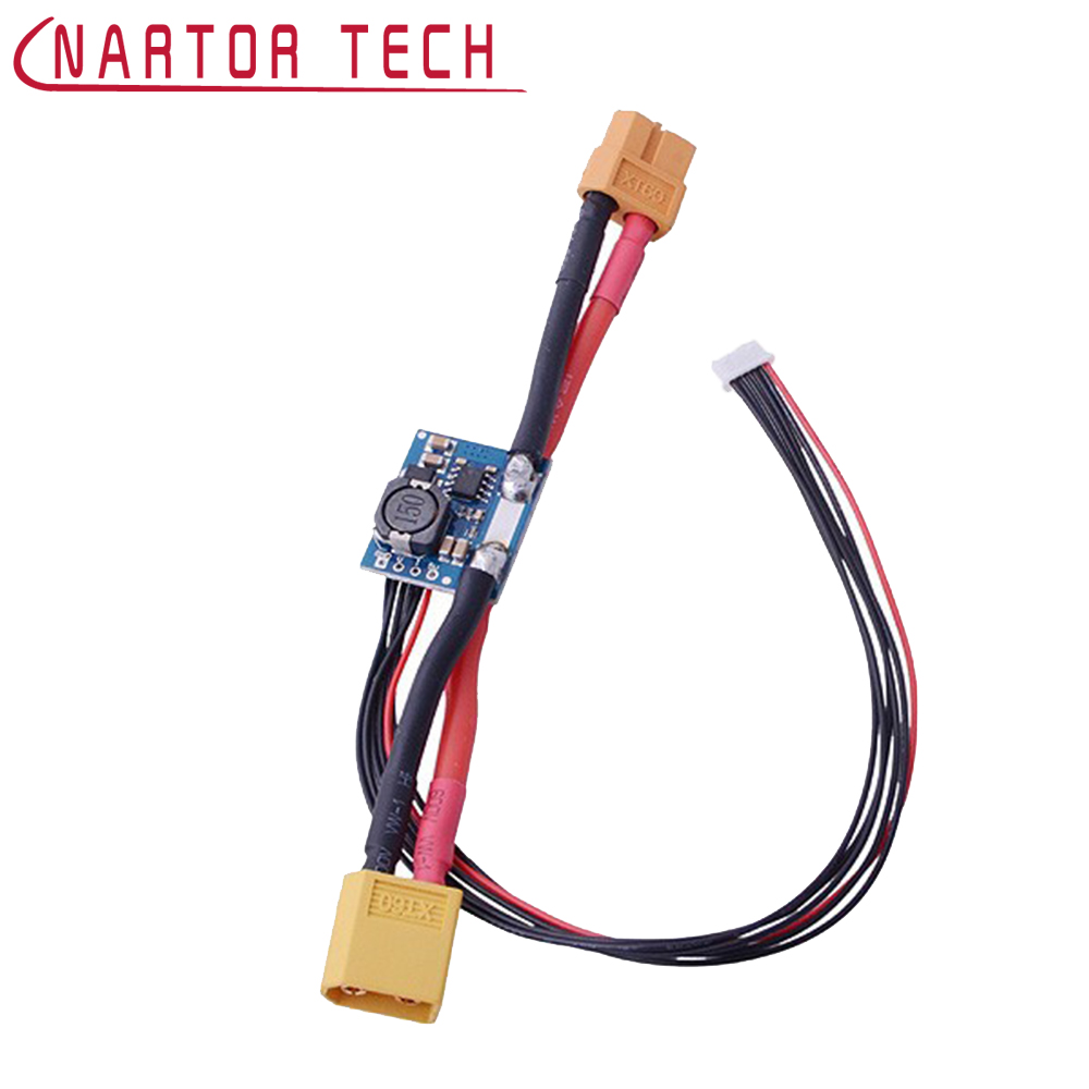 Nartor APM Power Module DC-DC XT60 Connectors 5.3V BEC for APM 2.5/2.5.2/2.6 and Pixhawk Stable and Reliable