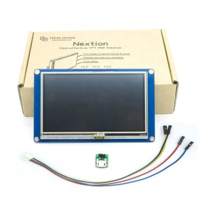 """4.3"""" Nextion HMI Intelligent Smart USART UART Serial Touch TFT LCD Module Display Panel For Raspberry Pi 2 A+ B+ uno r3 mega2560"""