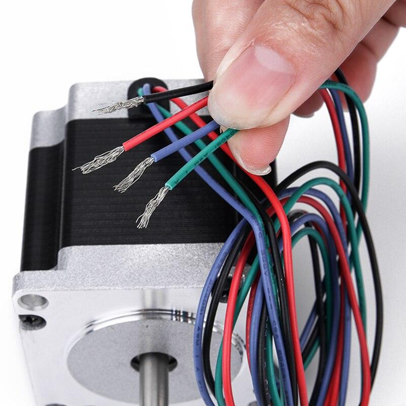 4 оси/3 оси CNC набор маршрутизатора 4 шт. TB6600 4A Драйвер шагового двигателя + Nema23 двигатель 57HS5630A4 + 5 осей интерфейсная плата + блок питания