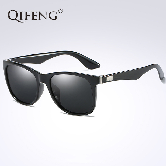 f5b4f8db8bb QIFENG Polarized Sunglasses Women Men Fashion Brand Driver Sun Glasses For  UV400 Female Male Safety Driving