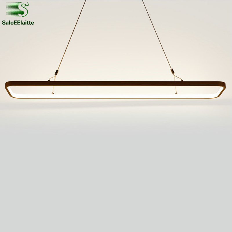 Modern Minimalism Lustre Led luminaria Pendant Light Painted White Aluminium Led Suspension Lamp Dining Room Hang Lighting Lamp