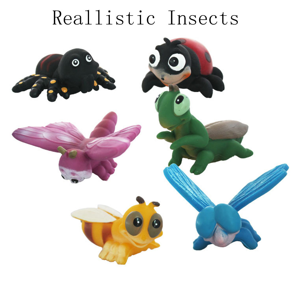 little pet shop Simulation Reallistic Insects Figures 4Inch Giant Insects Playset Toys for Kids littlest pet shop demoniacal fit