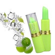 2019 New Iced Lemon Mint Lipstick Long Lasting Moisturizer Waterproof Makeup Nutritious Temperature Change Color Lips