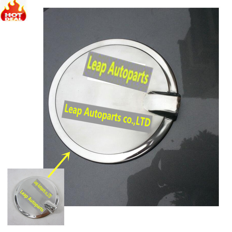 High quality styling stainless steel car accessories gas fuel oil tank cover cap moulding
