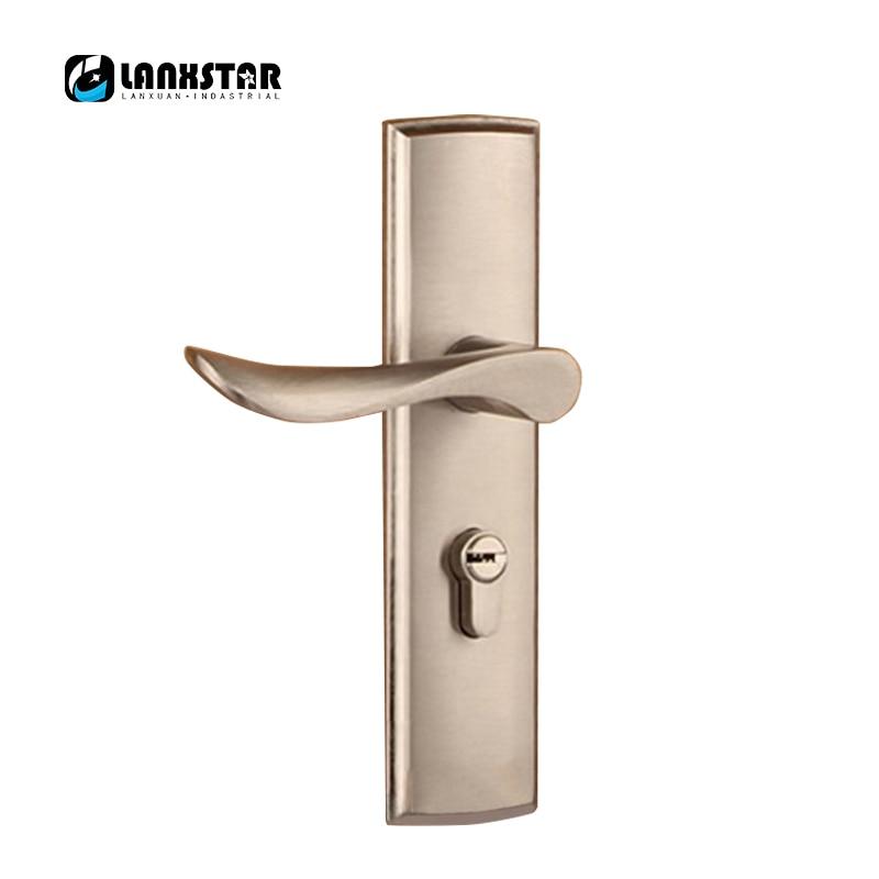 Simple Design Alloy Interior Room Mechanical Lock Handles Indoor Split Handle Locks fashion style mechanical lock handles indoor split handle lock