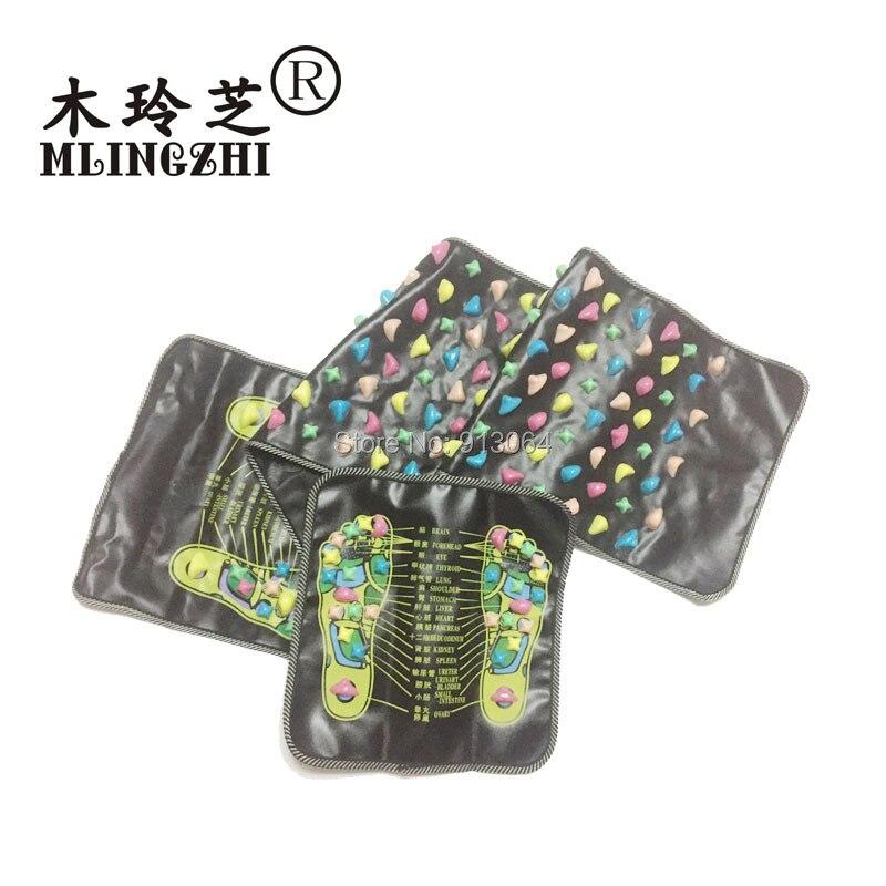 Chinesische Reflexzonenmassage Fuß Stein Schmerzen Zu Lindern Fuß Bein-massagegerät Matte Gesundheitswesen Akupressur