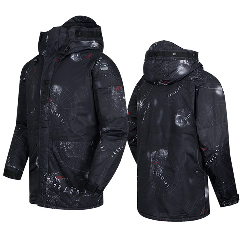 New Premium SouthPlay Winter Season Waterproof 10,000mm Warming Ski & Snowboard  South Black Camo Military Jackets india south 1 1 200 000