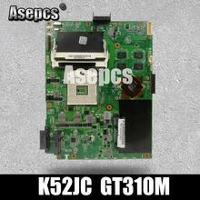 Asepcs K52JC материнская плата для ноутбука ASUS K52JC K52JT K52JR Тесты Оригинал материнская плата GT310M Графика карты
