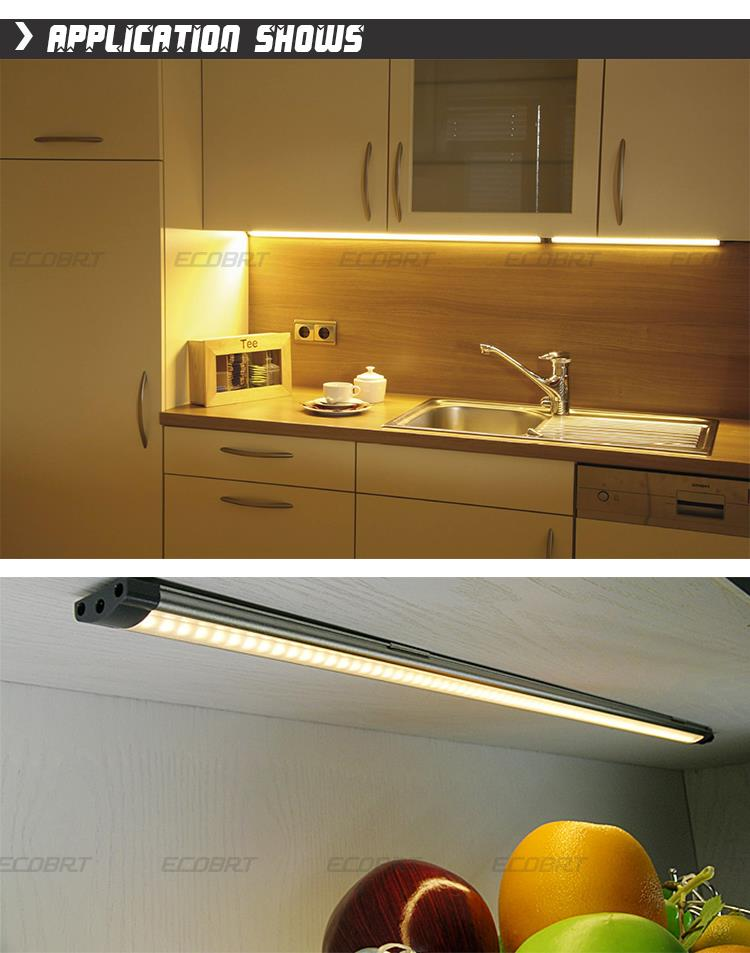 Modern 12v Kitchen LED Under Cabinet Lights Tubes 50cm Long 5W