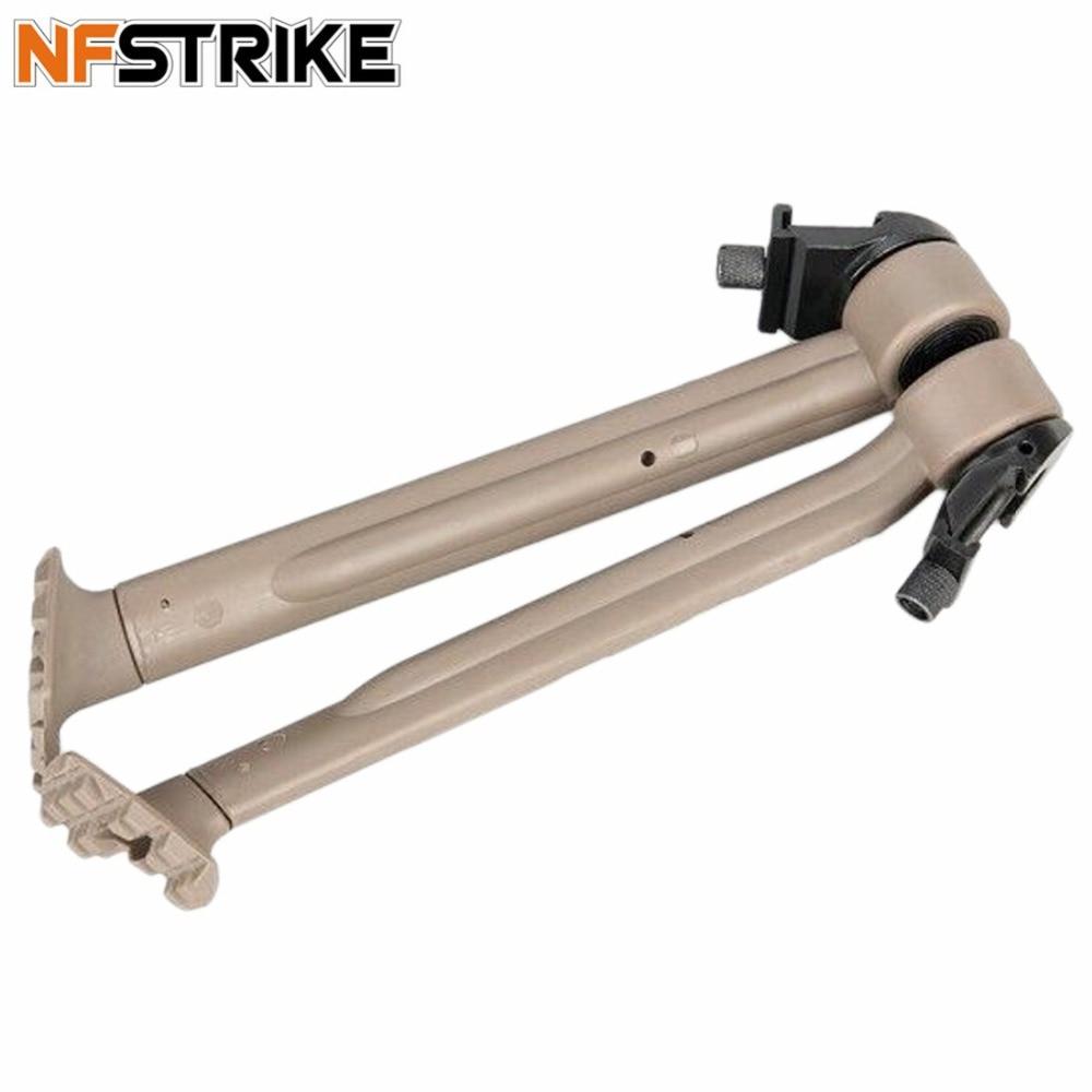NFSTRIKE Tactiques En Plein Air Réglable Sport Pied Stand Soft Gel Perles Blaster Accessoires Modification Haute Qualité-Tan