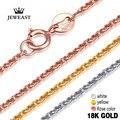 18k золотое женское ожерелье с подвеской  женское ювелирное изделие с бриллиантами  цепочка с веревкой для вечеринки  трендовая  горячая расп...