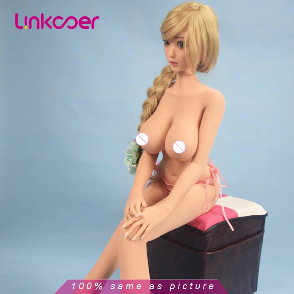 Linkooer, новинка 100 см, TPE, силиконовые секс куклы, японское аниме, полная оральная любовь, кукла, реалистичные игрушки для взрослых, большая грудь, Сексуальная мини-Вагина