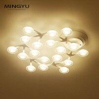 Longree Cheap White Creative Stars Ceiling Lamp Circular Art Light Acrylic Material For Wedding Living Room