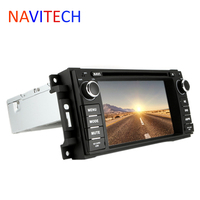 Multimedia Stereo Car Radio DVD Player GPS Navigation For Jeep Wrangler 3D Maps
