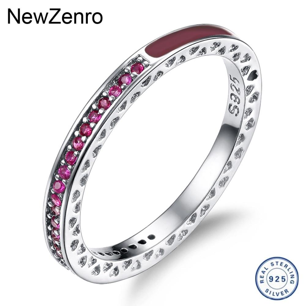 925 Серебряное кольцо для женщин мигающий циркон кольцо цвета свадебные украшения JZ071