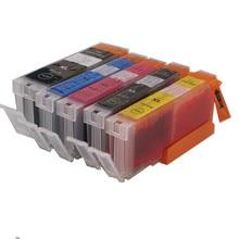 Para CANON 470 471 PGI-470PGBK CLI-471 BK cmy cartucho de tinta compatible tinta lleno para CANON MG6840 MG5740 impresora