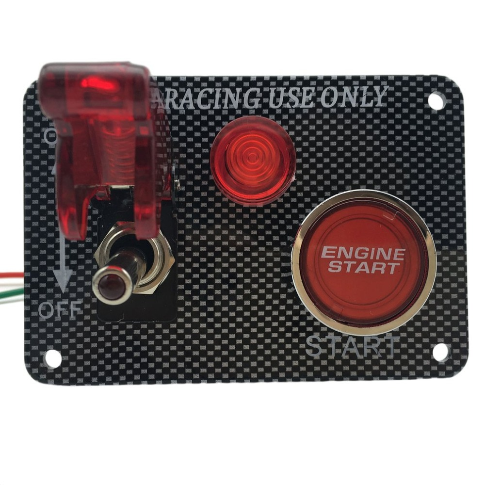 Switch Panel Qualité Ignition Start 2 aéronefs Racing Kit voiture pour Motorsport