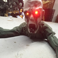 Hot Sales Halloween Decoration Ghost Terror Ghost Spirit Shook The Induction Climb Tricky Toys Free Shipping