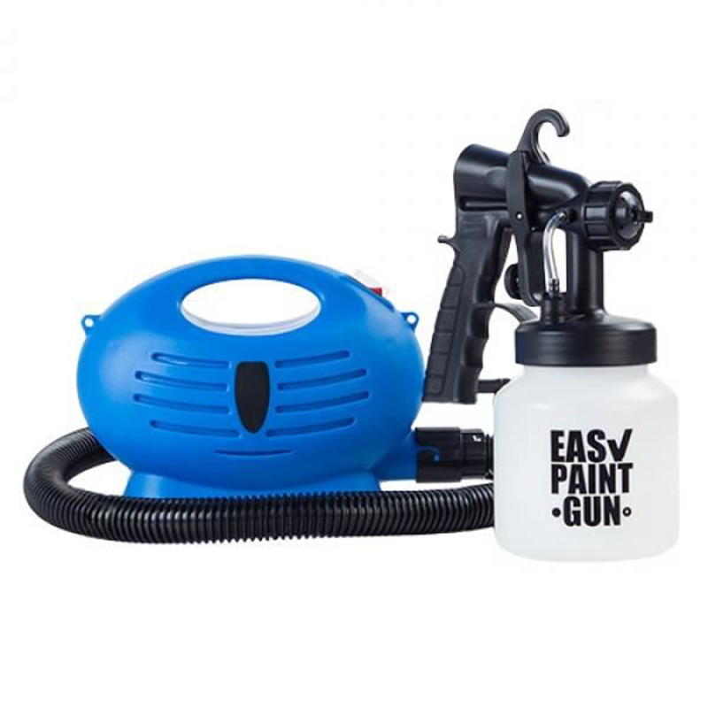 цена на Easy Paint Gun EU Plug Electric paint spray gun 220 V - 50 Hz With air compressor Auto Furniture Coating Airbrush Paint Tool set