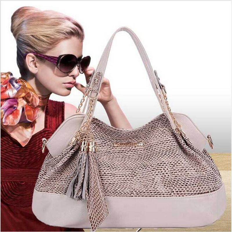 2017 Famous Brand Female Leather Bag Large Tote Fashion Women Messenger Bags New High Quality Designer Women Bag Crossbody Bag