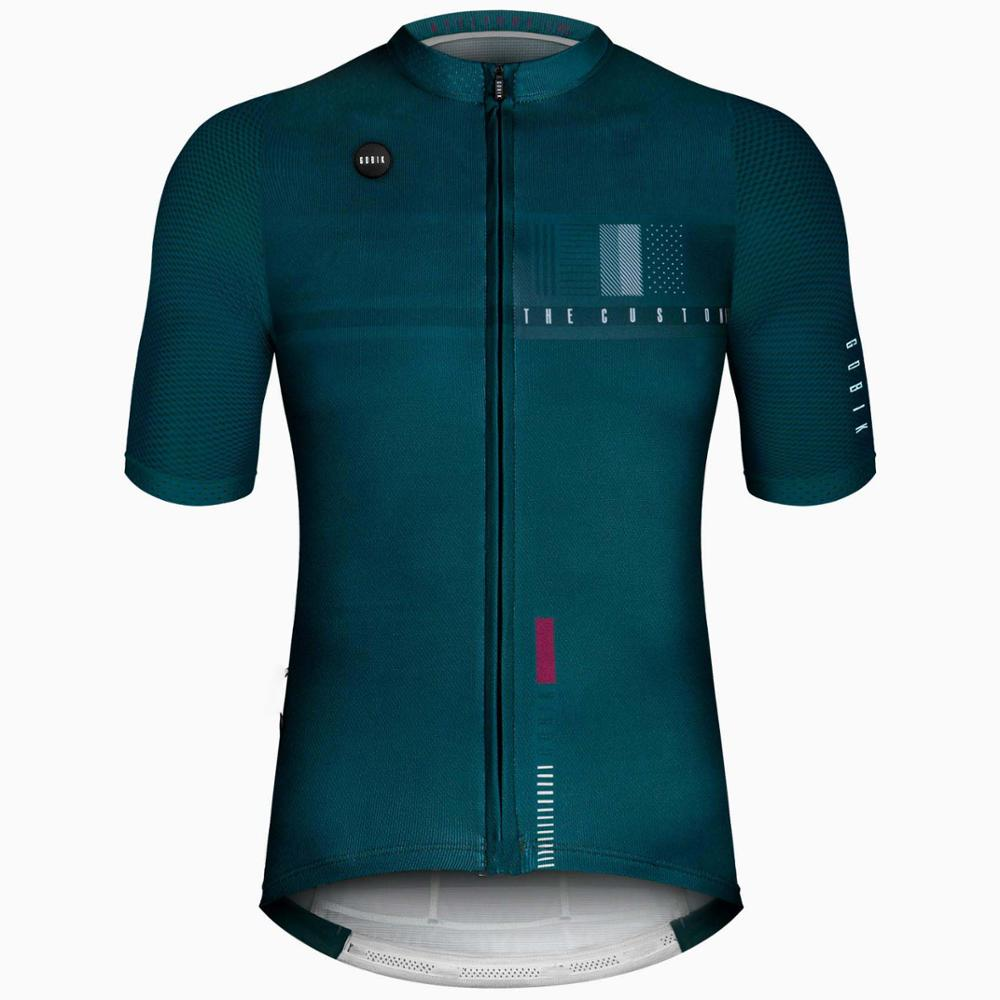2019 4 color summer TOP QUALITY PRO TEAM AERO Cycling jersey Race fit Italy fabric bicycle