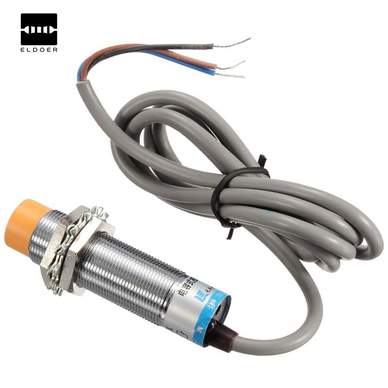 High Quality LJC18A3-H-Z/BX Approach Sensor Cylindrical Capacitive Proximity Switch NPN 6-36V