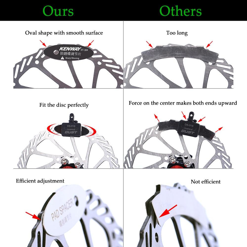 Adjusting Tool Bicycle Disc Brake Pads Brake Pads Rotor Spacer Bicycle Part B HF