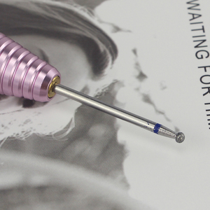 Image 5 - 8 סוגים יהלומי נייל מקדח רוטרי Burr לציפורן נקי חשמלי Bits עבור מניקור תרגיל אביזרי נייל מיל קאטר MF01 08