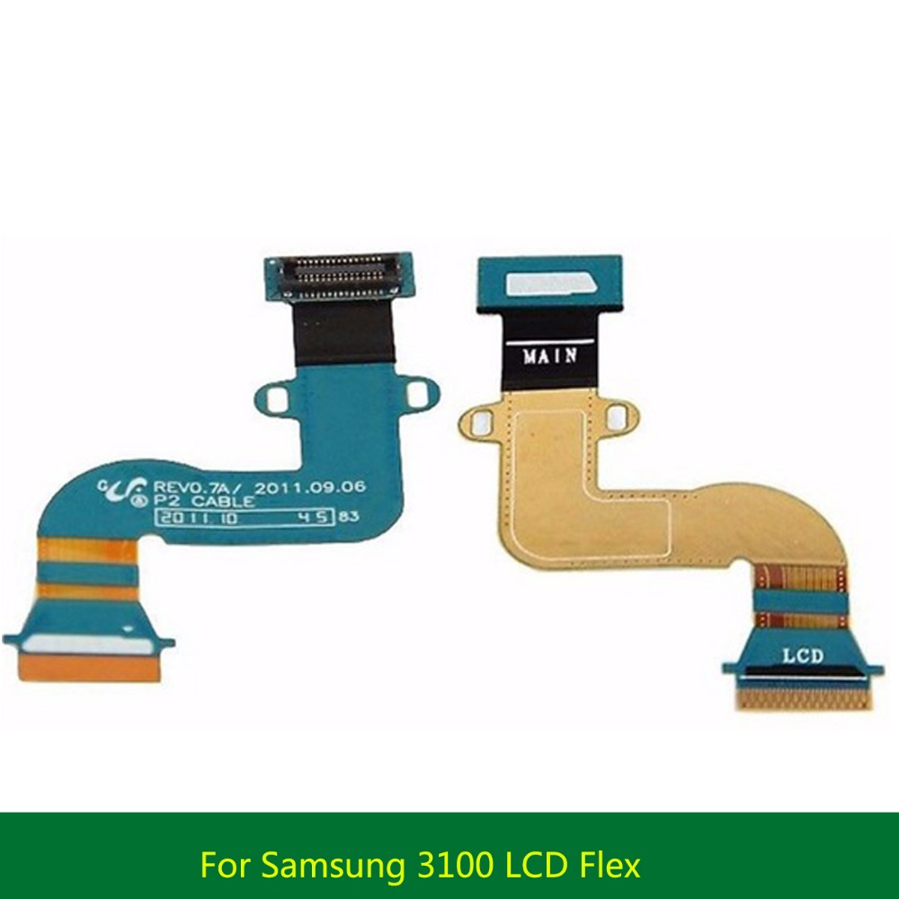 High Quality For Samsung Galaxy Tab 2 7.0 P3100 P6200 P3110 LCD Flex Cable Ribbon Screen Connector Flex Cable