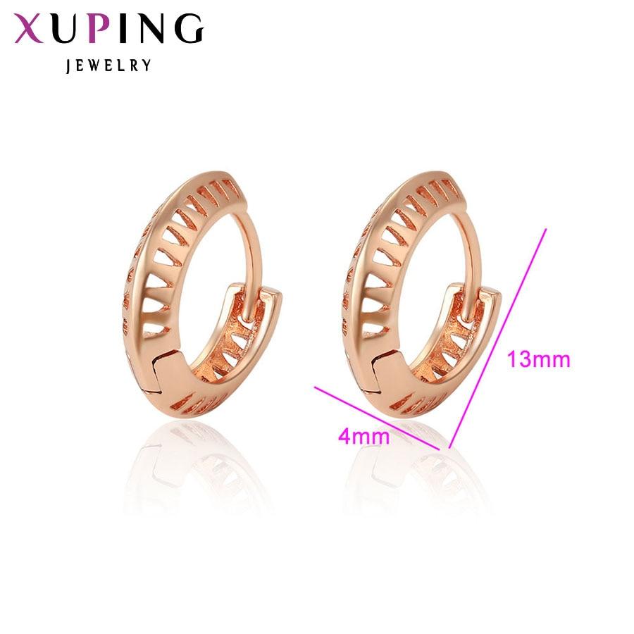 11,11 сделок Xuping Роскошные серьги темперамент дамы обруч серьги новый Дизайн Jewelry высокое качество подарок на день матери S90, 6-96443
