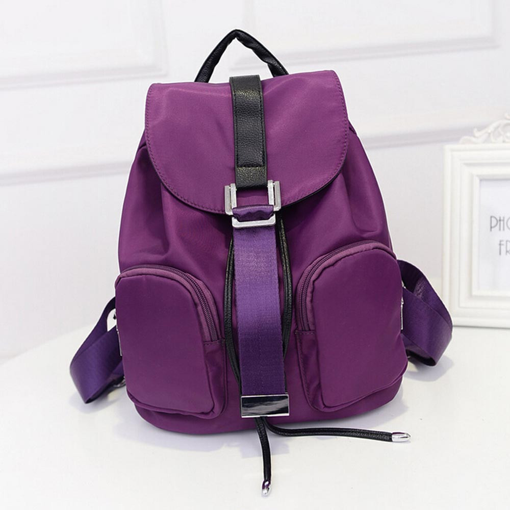 Ulrica 2017 New Fashion Bag Ultralight Waterproof Women School Student Bag Out Home Travel Portable Folding