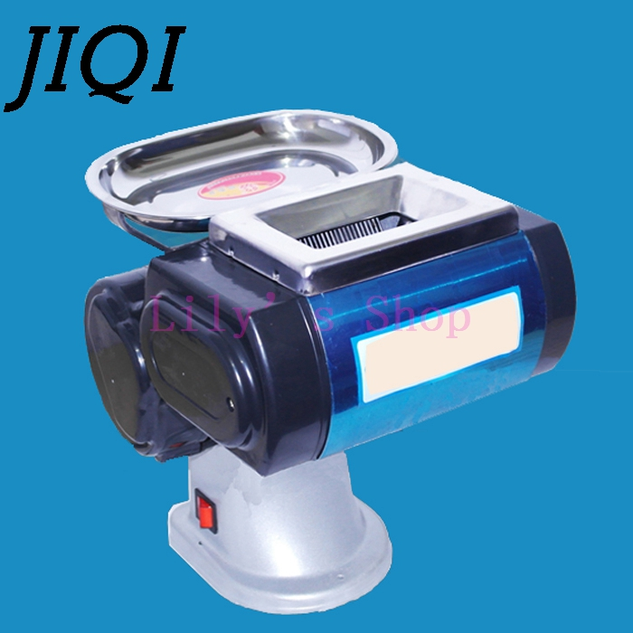 Commercial Electric Meat Slicer Mincer Automatic Mini Diced Minced Meat Cutter Grinder Block Meat Slicing Cutting Machine EU US