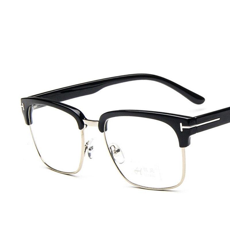 ebfb2a3b9ac Classic Square TF Glasses Frame Men Women Myopia Prescription Clear Lens  Glasses Frames Optical Reading Eyeglasses