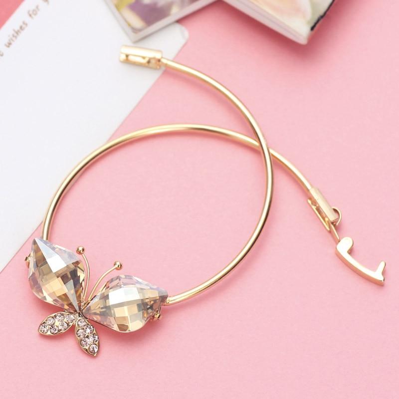 Neoglory Australia Crystal & Auden Rhinestone Bangle Lovely Butterfly - Նորաձև զարդեր - Լուսանկար 5