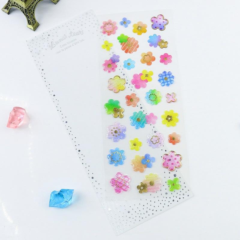 Dream Epoxy Crystal Sticker Bronzing Transparent Three-dimensional Decorative Handbag Mobile Phone Sticker