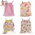 free shipping 3pcs/lot Children Camisole halter top cotton halter top children's clothes for 1-2 yearsatst0005