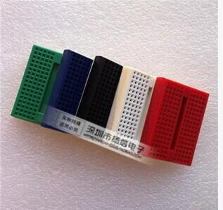 1pcs/lot SYB-170 Mini Solderless Prototype Experiment Test Breadboard 170 Tie-points 35*47*8.5mm