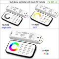 Bincolor Multi Zone control dimming/CCT/RGB Max 3x3A RF беспроводной пульт дистанционного управления с приемником контроллер для светодиодных лент светильник  ...