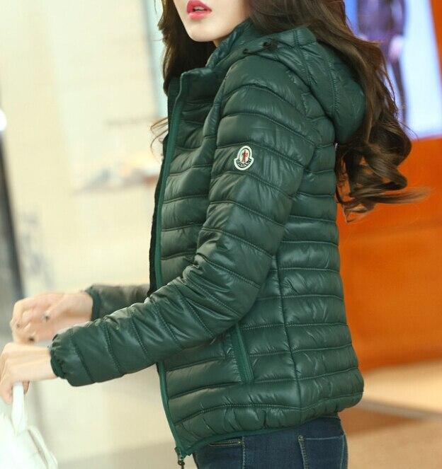 Womens Green Down Jacket | Fit Jacket