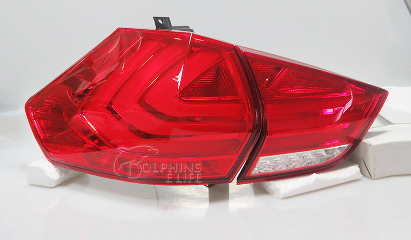 For Nissan X-Trail Rogue 3rd 2014-2016 Car Tail lights Led Rear lights Rear Low Beam Brake Lights Reversing Lamp Auto Taillights automotive halogen lamps tail lights rogue reversing lights brake lights beep sound the alarm lamp
