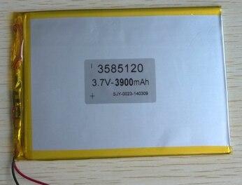 5 шт. оптовая продажа 3. 7V3900mAh литий-полимерная батарея 3585120 планшетных ПК, ноутбуков и других общих батареи