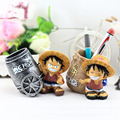 Creative toys resin furnishing articles Household gift act the role ofing is tasted Pirates Wang Lufei brush pot
