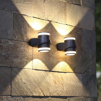 Thrisdar 12W Outdoor LED Veranda Wandlamp Infrarood PIR Motion Sensor Waterdichte Wandlamp Corridor Hotel Buitenmuur Licht