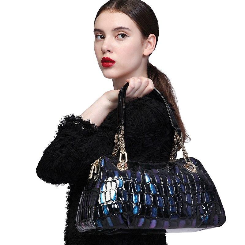 ZOOLER marque sacs en cuir femmes vache cuir sac à main femme épaule Messenger sacs 2019 nouveau sac à main grand fourre-tout qualité # wp132 4