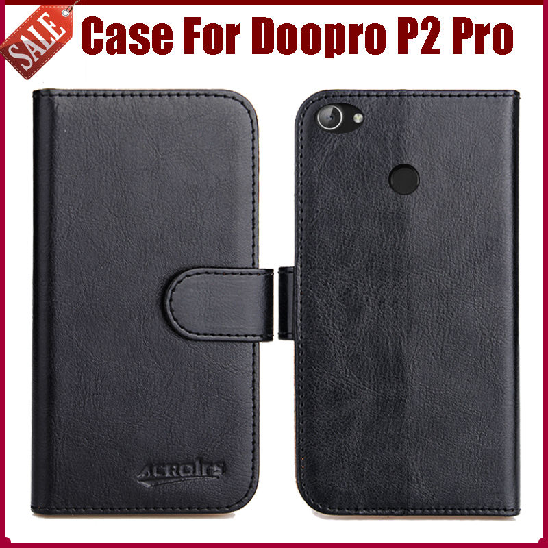 Hot Sale! Doopro P2 Pro Case New Arrival 6 Colors High Quality Flip Leather Protective Phone Cover For Doopro P2 Pro Case