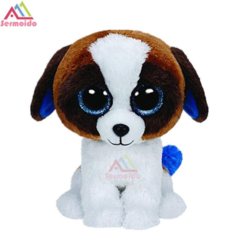 Sermoido ty 6 Beanie Боос Duke собака плюшевые шапочка Детские Плюшевые Коллекционная Мягкие плюшевые куклы Игрушечные лошадки dbp48