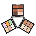 Newest Professional 6 Color Makeup Contur Concealer Palette Natural  face Foundation Cream Contour Cosmetic Makeup Camouflage