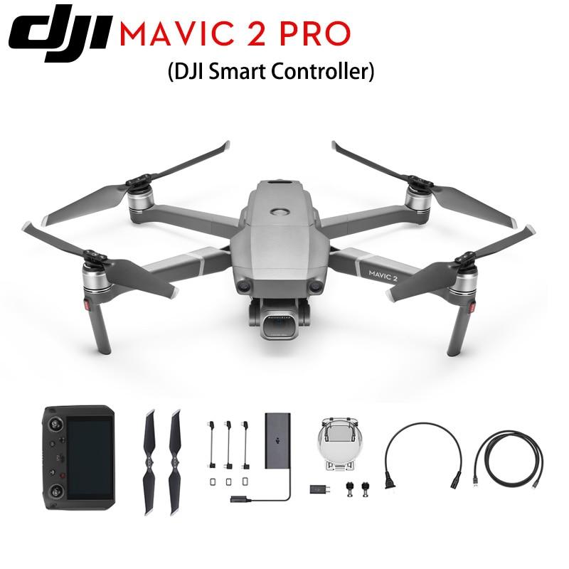 DJI Mavic 2 Pro DJI Smart Controller Zoom 1 CMOS Sensor Camera Adjustable Aperture RC Quadcopter